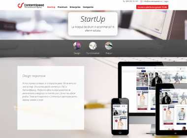 ContentSpeed lanseaza o platforma prin care orice startup isi poate deschide magazin online