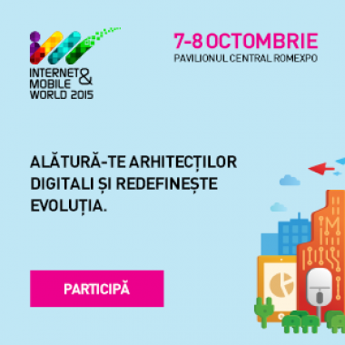 StartupCafe.ro te trimite la Internet & Mobile World 2015, pe 7 si 8 octombrie