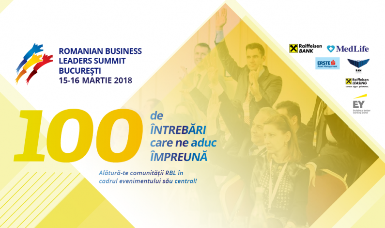 Romanian Business Leaders Summit 2018