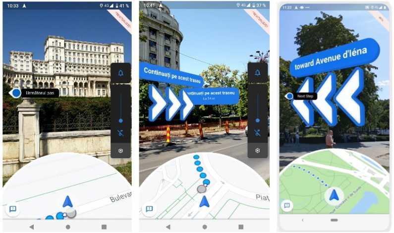 Nou In Google Maps Live View Sau Indicații De Orientare Prin