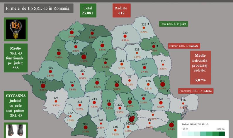 Harta Interactiva Cluj Judetul Cu Cele Mai Multe Firme Tip Srl